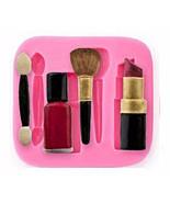 Makeup Silicone Mold, Nail Polish Silicone Mold, Blush Silicone Mold, Br... - $9.99