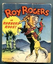 Roy Rogers Robbers Roost Big Little Book #1452 - $56.75