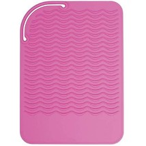 Sygile Silicone Heat Resistant Travel Mat, Anti-heat Pad for Hair Straighteners,