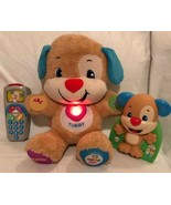 Fisher-Price Laugh Learn Smart Stages Plush Puppy Remote Control & Game ... - $24.74