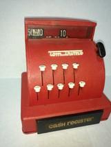 Vintage Tom Thumb Metal Cash Register Red - $43.99