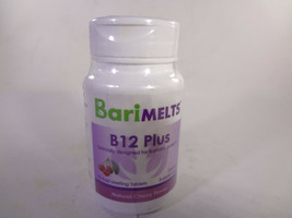 Bari Melts B12 Plus Natural Cherry Flavor 90 Fast-Melting Tablets [VS-B] - $19.64