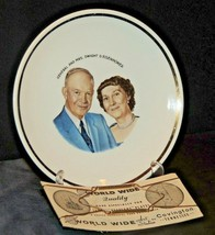 Collector's Plate General and Mrs. Dwight D. Eisenhower AA20-7204 Vintage