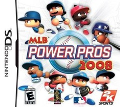 MLB Power Pros 2008 - Nintendo DS - $14.99