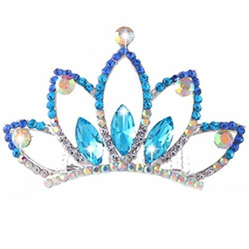 Primary image for Elegant Plate Hair Comb Jewel Crown Bridal Headdress