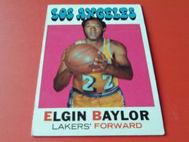 1971/72 Topps # 10 Elgin Baylor !! - $14.99