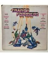The Transformers - The Movie Soundtrack LP Vinyl Record Album, Original ... - £58.55 GBP