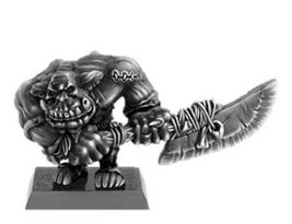 Spellcrow Black Orc with Two-Handed Blade