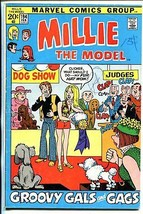 Millie The Model #194 1972-dog show cover -fashion page-VG- - $25.22