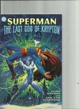 Superman The Last God of Krypton DC Comics - $3.75