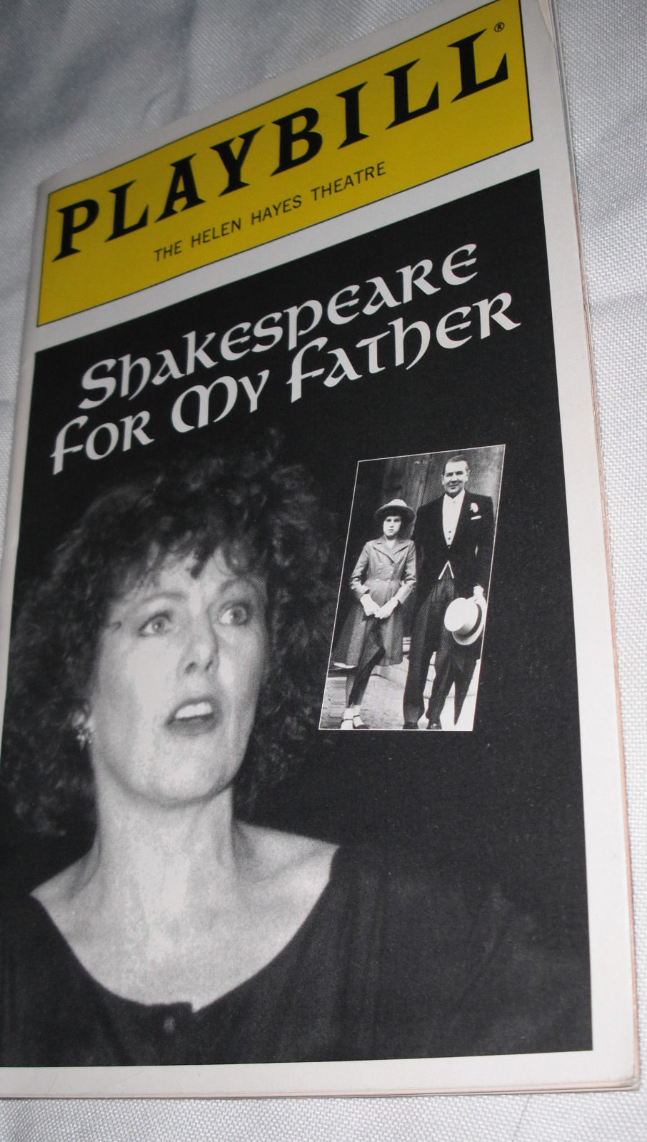 Shakespeare For My Father Playbill