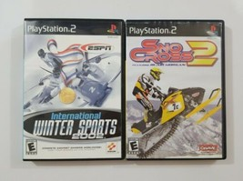 PS2 Winter Sports 2 Game Lot See Description For Titles  - $5.89