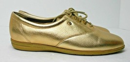 Easy Spirit Esmotion Comfort Shoes Sz 8 2E/D Parade Marching Band Gold Leather - $33.22 CAD