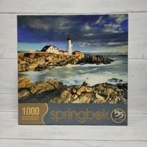 Portland Head Light 1000 Piece Springbok Jigsaw Puzzle Maine Lighthouse NEW - $43.39