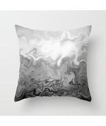 Throw Pillow Case Cushion Cover Made USA Design 83 grey gray abstract L.... - $29.99+