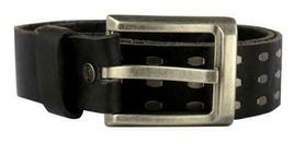 NEW LEVI'S MEN'S STYLISH CLASSIC GENUINE LEATHER BELT BLACK 11LV1204 SIZE S image 3