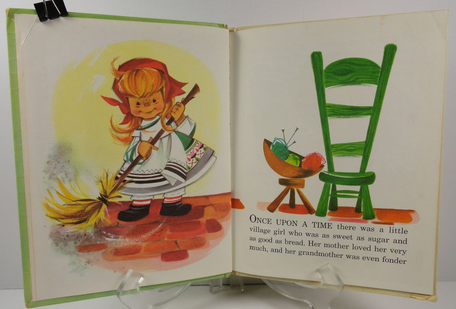 Little Red Riding Hood Tip-Top Elf Book