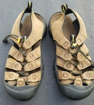 KEEN NEWPORT BROWN MENS SANDALS 41 US 8.5 EUC - $52.25