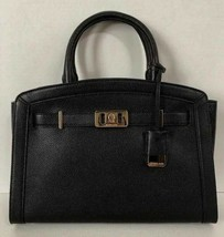 New Michael Kors Karson Large Satchel handbag Leather Black - $129.00