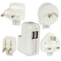 iJoy Powwer Universal Dual USB Port 3.1A 15.5W Worldwide Travel Charger ... - $26.36