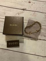 RARE Vintage Gold Gucci Horsebit Bracelet - $742.50