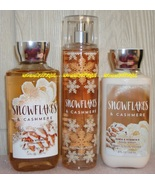 Snowflakes Cashmere Bath and Body Works Fragrance Mist Body Lotion Showe... - $28.50