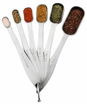 Spring Chef Heavy Duty Stainless Steel Metal Measuring Spoons for Dry or... - $9.47