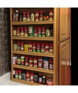 "Spice Rack - ""Americana Gourmet"" - Wall-Mounted - $109.95"