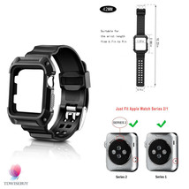 Rugged Case Band Apple Watch Protective Resilie... - $19.80