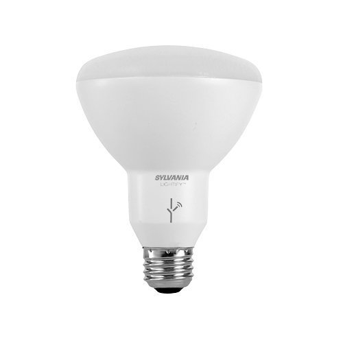 SYLVANIA SMART+ BR30 Soft White LED Bulb, 65W Equivalent On/Off/Dim, Works with