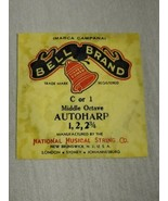 Bell brand AutoHarp Strings C or 1 middle octave 1, 2, 2 3/4 (a12-4) - $14.85