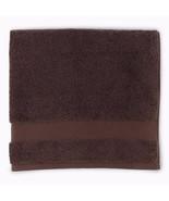 Sferra Bello Brown Washcloths Set of (3) Wash Cloth Solid 100% Cotton NEW - $28.00