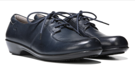 Naturalizer Work Bell Navy Leather, size 7m - $46.52