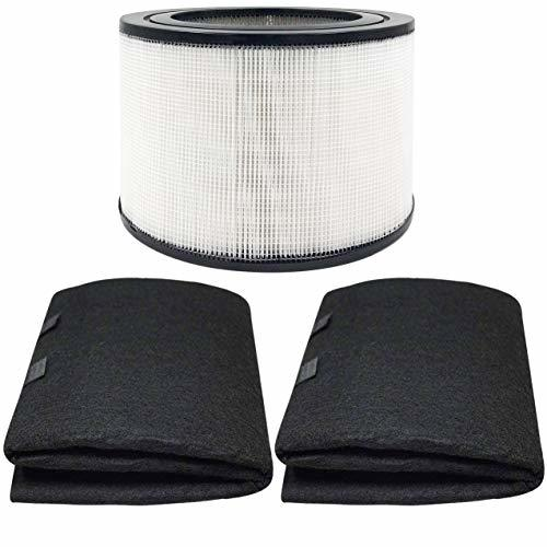 Fette Filter - Replacement HEPA Filter and 2 Wrapping Carbon Pre-Filters Compati