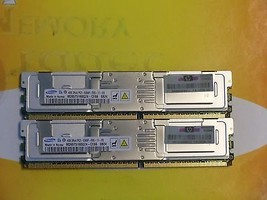 8GB (2x 4GB) DDR2 pc2-5300fb 240-pin 667 MHz con Buffer m395t5160qz4-ce66 - $14.84