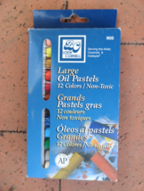 12 Oil Pastel Colors by Loew Cornell 905 - $9.35