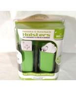 Dreamgear WII Fit Remote and Nunchuck Holsters Clip Set NEW in Package - $12.86
