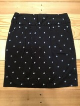 Gap Stretch Skirt Mini Black & White Polka Dot  Size 4 Women's Spring/Summer - $9.90