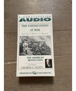 UNITED STATES AT WAR Cassette Audiobook The American Revolution George C... - $15.00