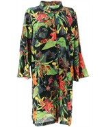 Linea Louis Dell'Olio Tiger Lily Print Duster Midnight Multi XL NEW A302607 - $37.60