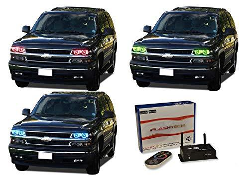 Primary image for FLASHTECH for Chevrolet Tahoe 00-06 V.3 Fusion Color Change RGB Multi Color LED