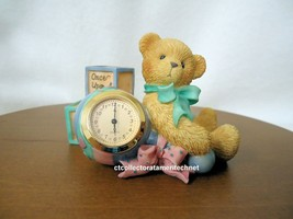 Cherished Teddies Clock Once Upon A Time Baby 2001  NIB - $34.15