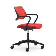 Steelcase QiVi Chair, Scarlet Fabric - - $533.00