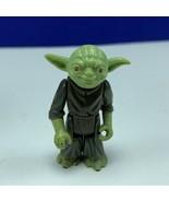 Star Wars action figure toy vintage Kenner 1980 jedi master Yoda no snak... - $24.05
