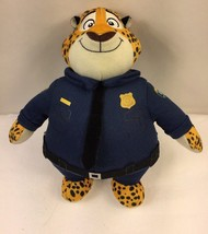 "Disney Zootopia Clawhauser the Policeman Tiger Plush Doll Tomy 10"" - $11.88"