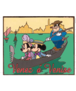 Mickey  & Minnie in a gondola  Venez  a Venise Authentic Disney Pin   on... - $69.99