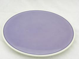 Lg Vint German Round Purple Ceramic Sandwich/Cookie Platter Beehive Germ... - $14.99