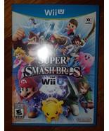 Nintendo Wii U SUPER SMASH BROS Mario Zelda Sonic Mario Zelda Sonic 2014 - $64.99