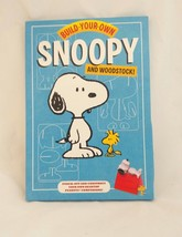 Build your own Snoopy and Woodstock Kit Chronicle Books 8+ Punch Out & Construct - $14.92