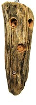 Cottagecore Peanut Butter Woodpecker Feeder Log - $40.00
